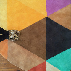 KALEIDOSCOPE HAND TUFTED RUG (All-ware) ROUND 200cm
