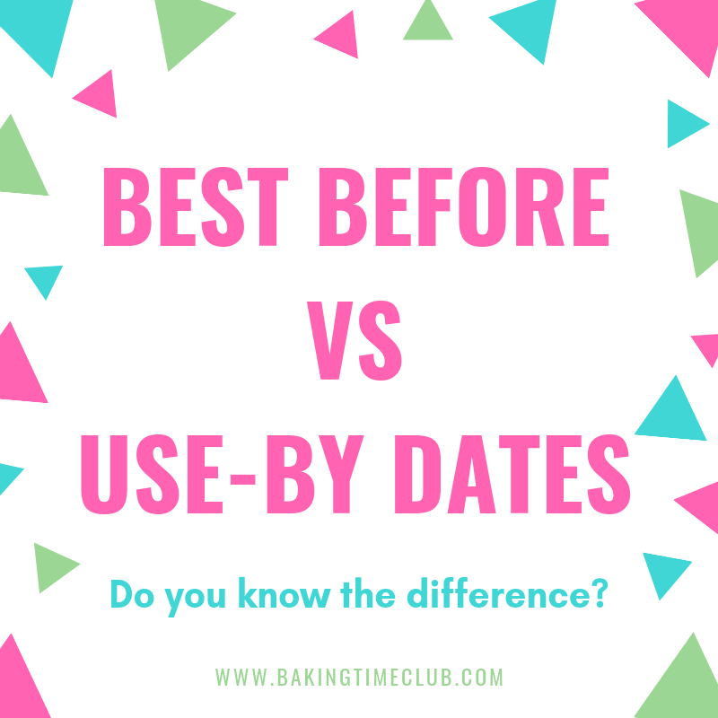 Best before vs Use-By Dates