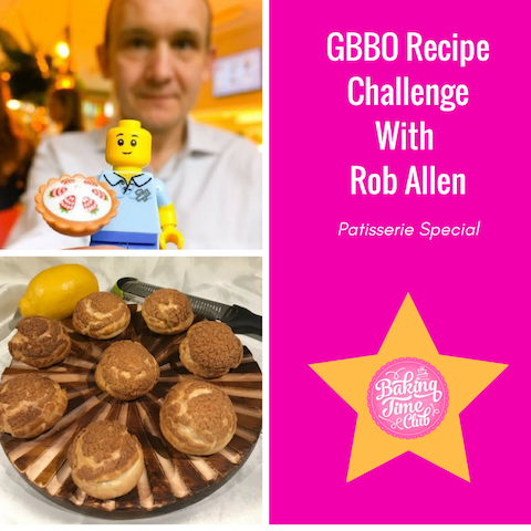 GBBO Recipe Challenge With Rob Allen (Patisserie Special)