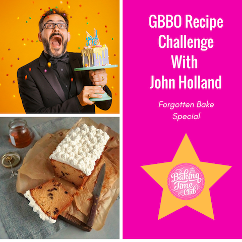 GBBO Recipe Challenge with John Holland (Forgotten Bake Special)