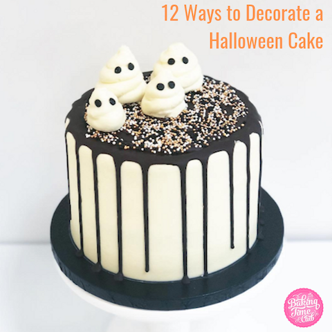 12 Ways to Decorate a Halloween Cake