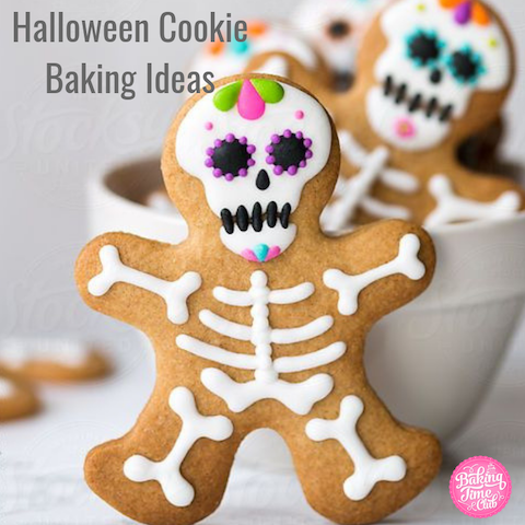 Halloween Cookie Baking Ideas