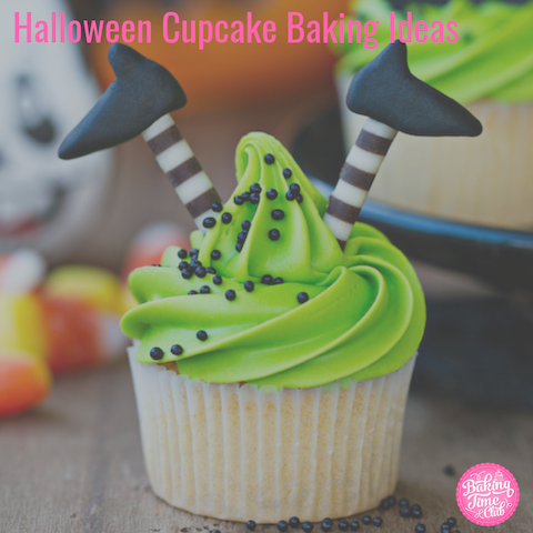 Halloween Cupcake Baking Ideas