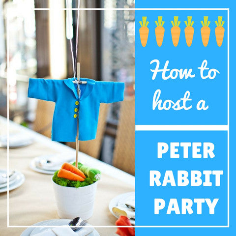 How to host a Peter Rabbit party