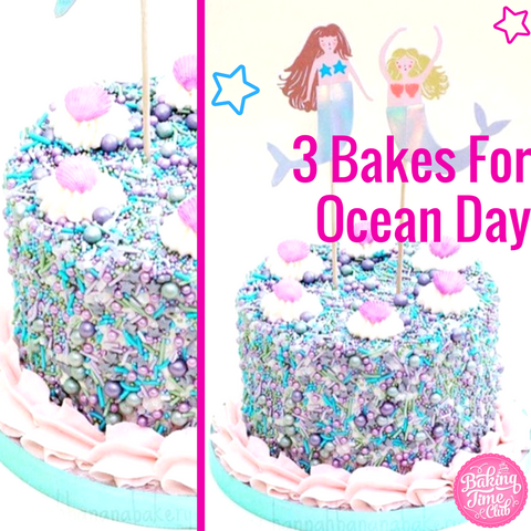 3 Bakes For Ocean Day