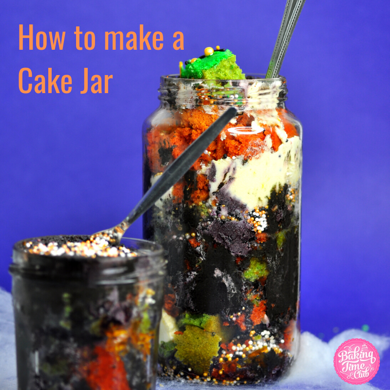 How to make a Cake Jar