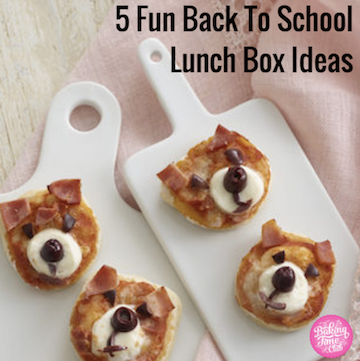 5 Fun Back To School Lunch Box Ideas