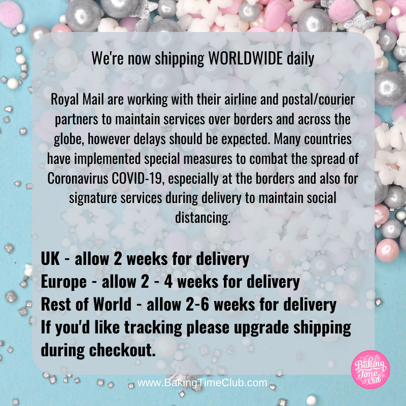 Worldwide Shipping Open - Postal Delays 11th Jan 2021