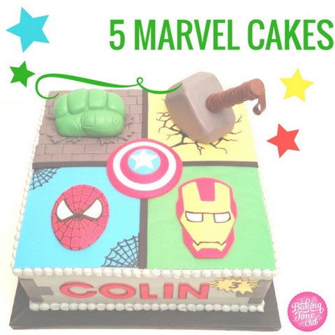 Top 5 Marvel Comic Book Cakes