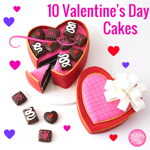 10 Inspiring Cakes to Bake this Valentine's Day