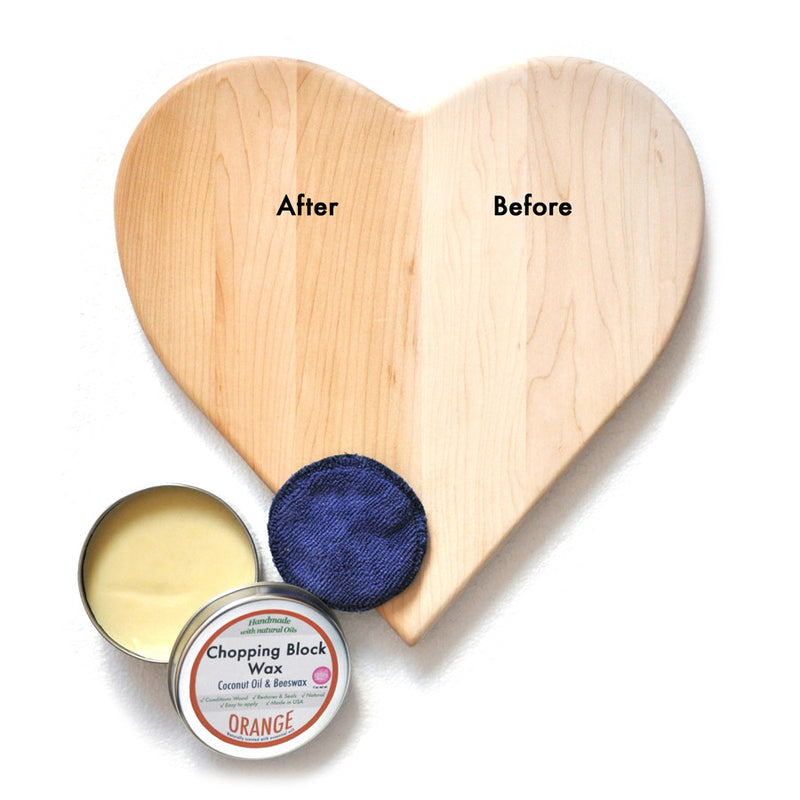 Discover how our Natural Wax can make your Wood Chopping Board last longer