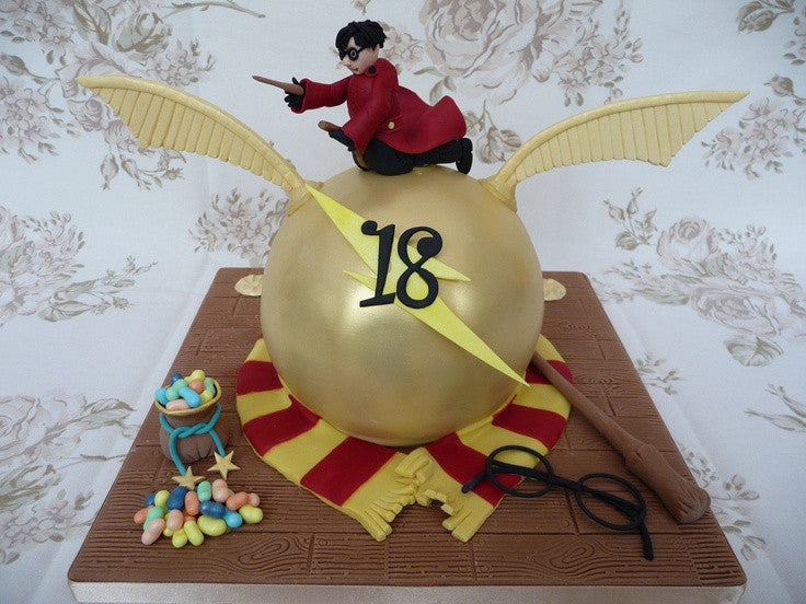 Harry Potter Cake Magic
