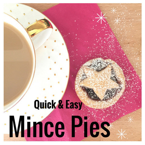 How to make Vegan Mince Pies in 25 minutes