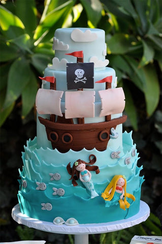Enjoyable How To Host A Pirate Themed Birthday Party Baking Time Club Birthday Cards Printable Riciscafe Filternl