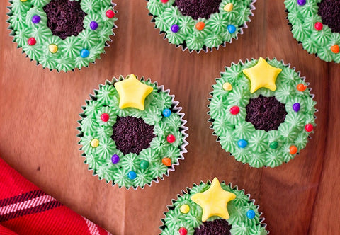 christmas-wreath-cupcakes-by-baking-time-club