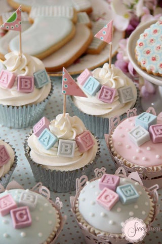 6 Simple Cupcake Ideas For Your Baby Shower – Baking Time Club