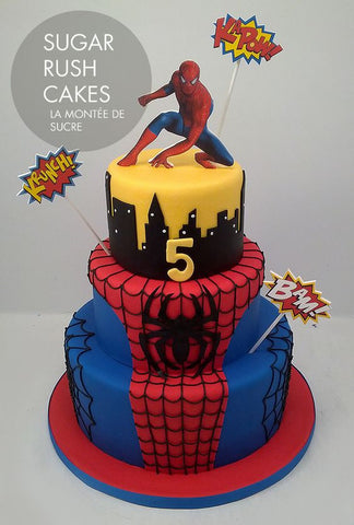 Top 5 Marvel Comic Book Cakes Baking Time Club