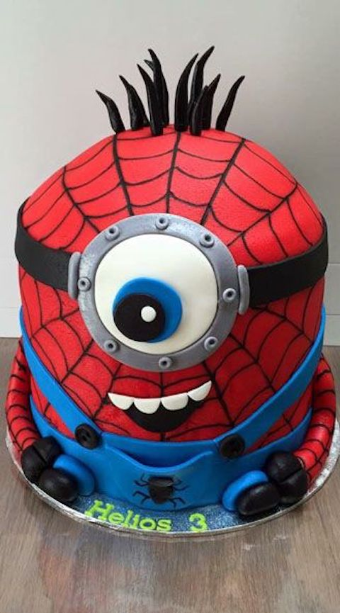 Brilliant 9 Ways To Decorate A Spiderman Birthday Cake Baking Time Club Personalised Birthday Cards Beptaeletsinfo