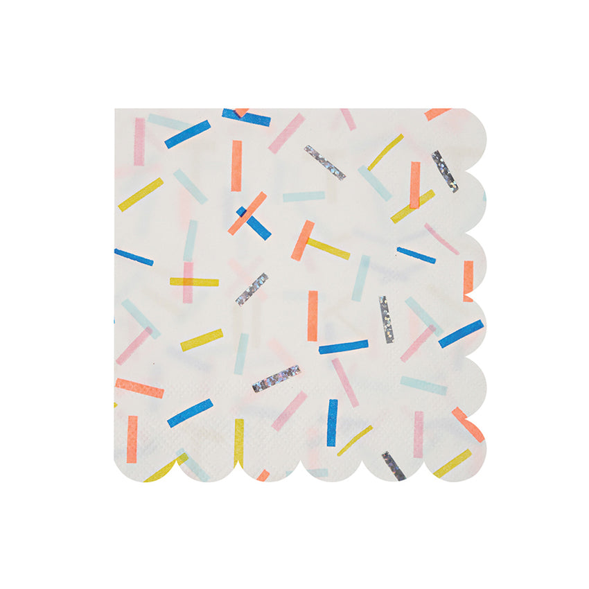 Sprinkles Small Napkins Pack of 16