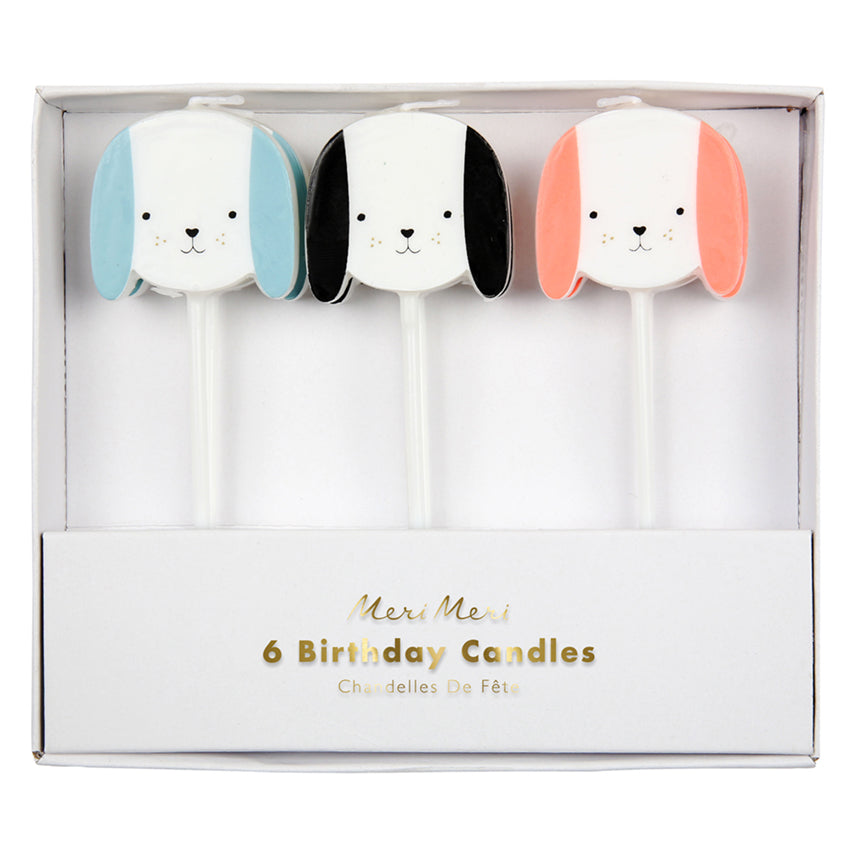 3 Dog Candles (Pack of 6)