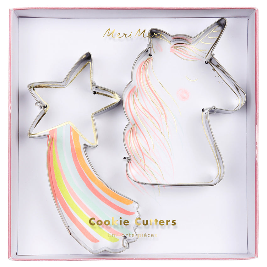 Unicorn Cookie Cutters Set