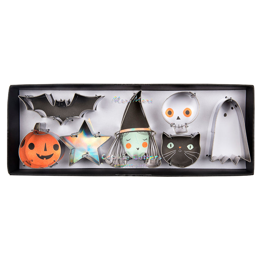 Spooky Mini Halloween Cookie Cutters