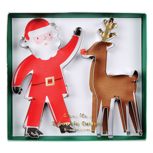 Santa & Reindeer Cookie Cutters