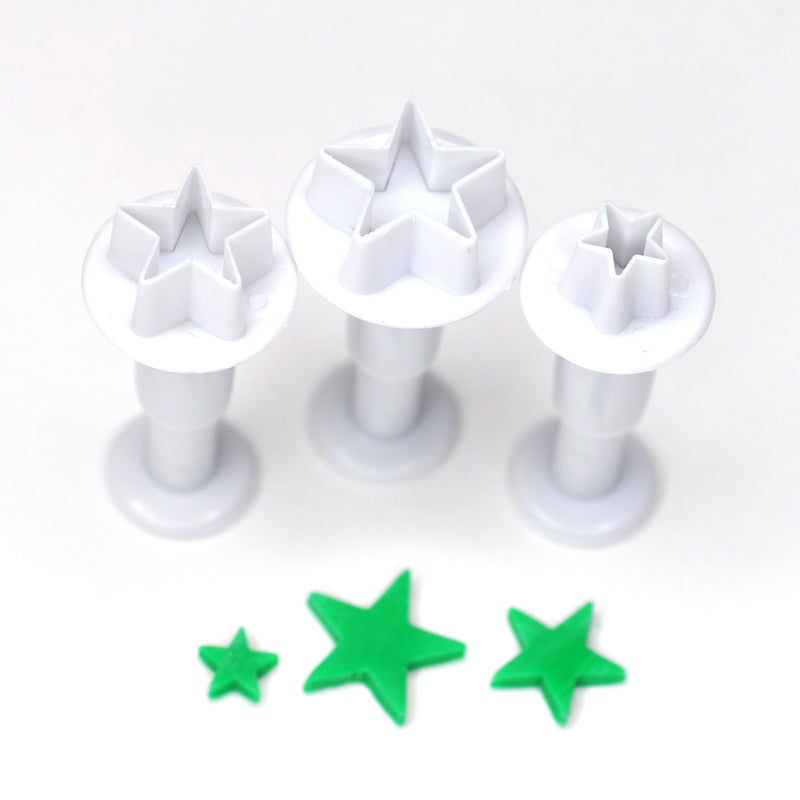 Star Fondant Cutter (Set of 3)