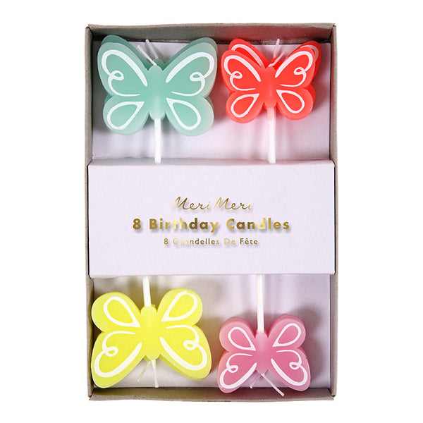 Pretty Butterfly Candles
