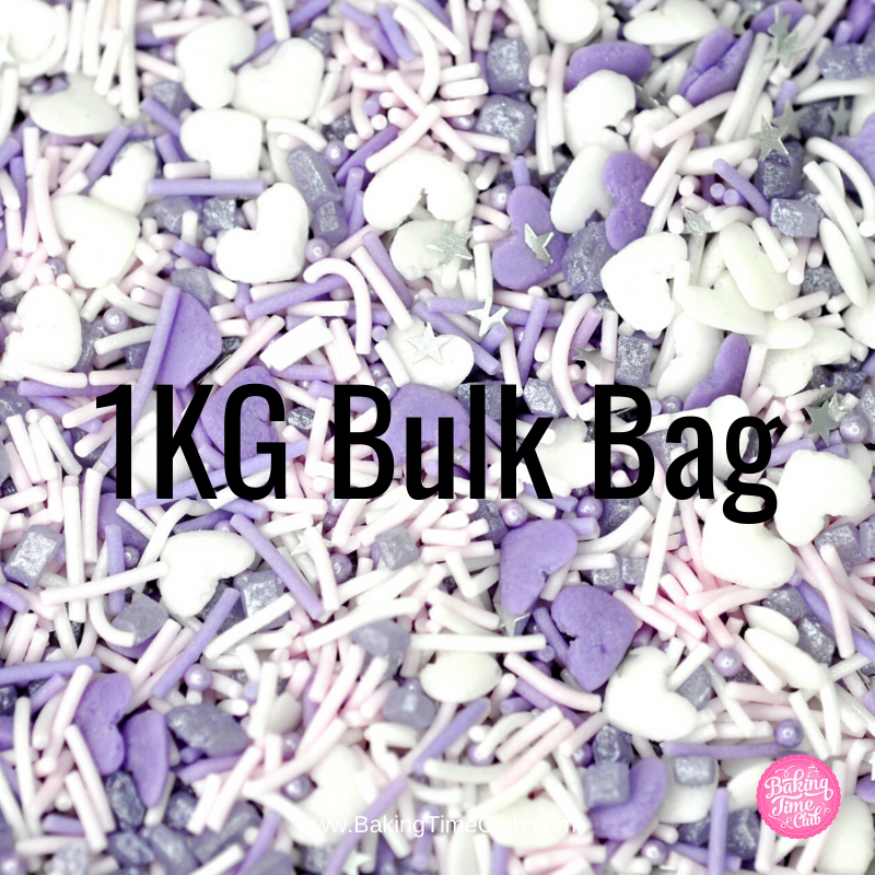 Bulk Bag - Galentines Sprinkle Mix (Best Before 06 April 2020)