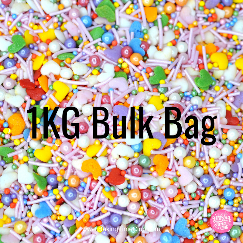 Bulk Bag - Love Is Love Sprinkles (Best Before 14 June 2020)