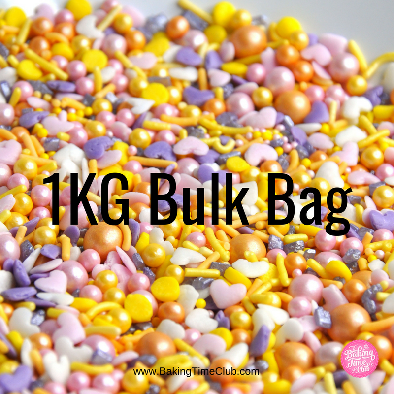 Bulk Bag - Summer Lovesong Sprinkles (Best Before 07 Jan 2020)