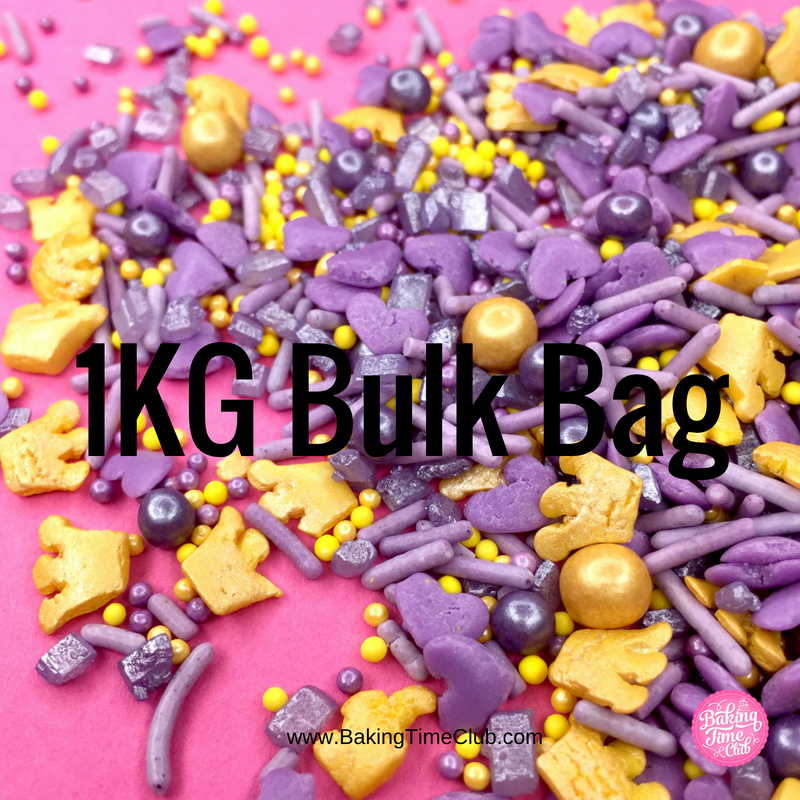 Bulk Bag - Purple Prince Sprinkles (Best Before 22 Aug 2019)