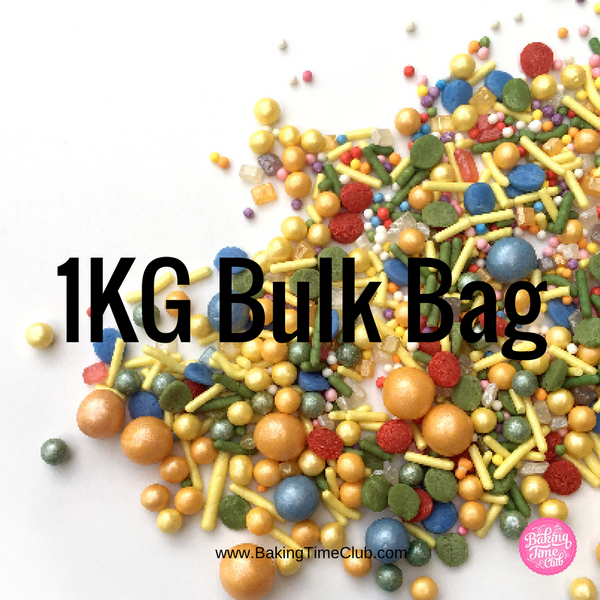 Bulk Bag - Circus Sprinkles