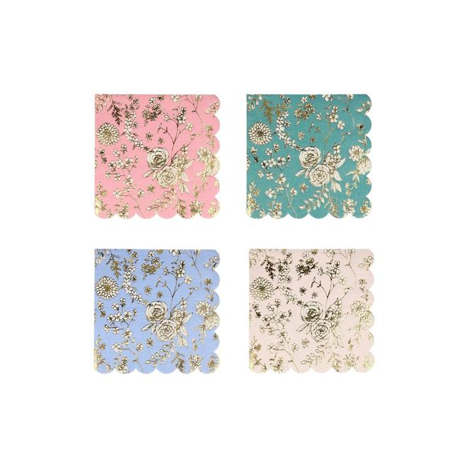 English Garden Lace Small Napkins Pack of 16