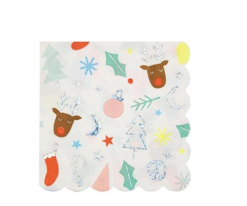 Festive Fun Small Napkins