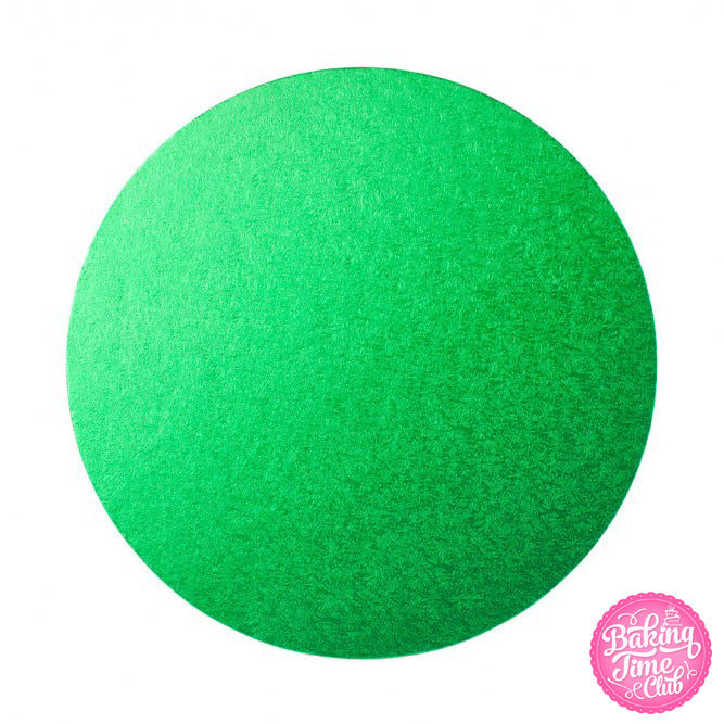"Bright Green 10"" Cake Drum - 5 Pack"