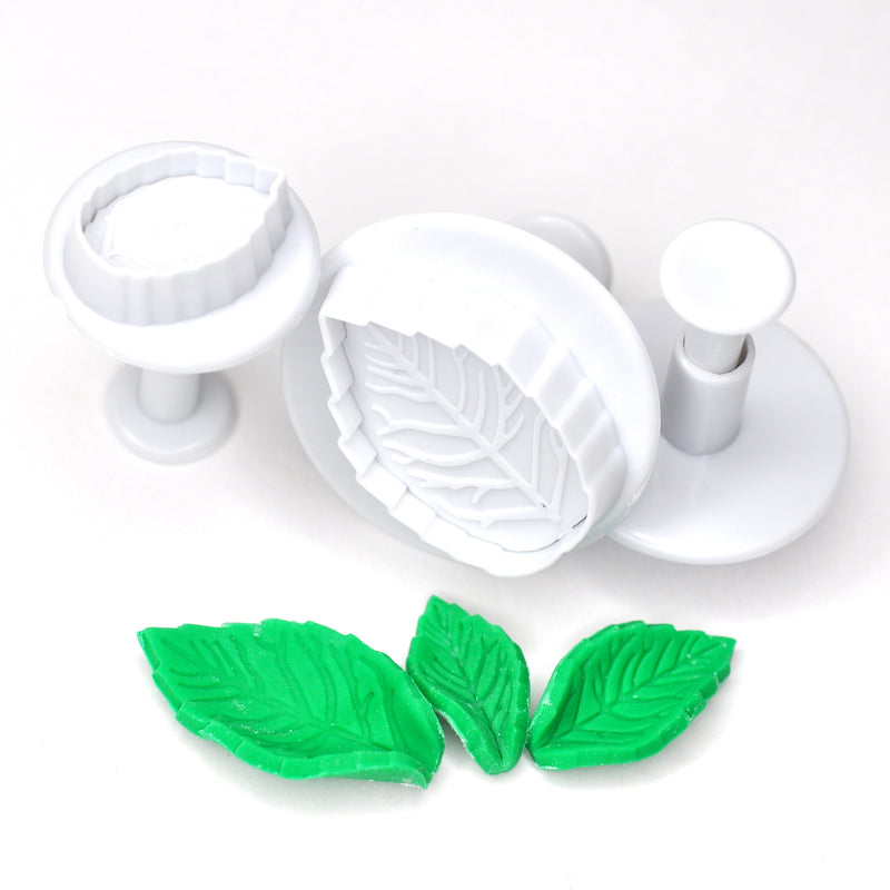 Leaf Fondant Cutter (Set of 3)