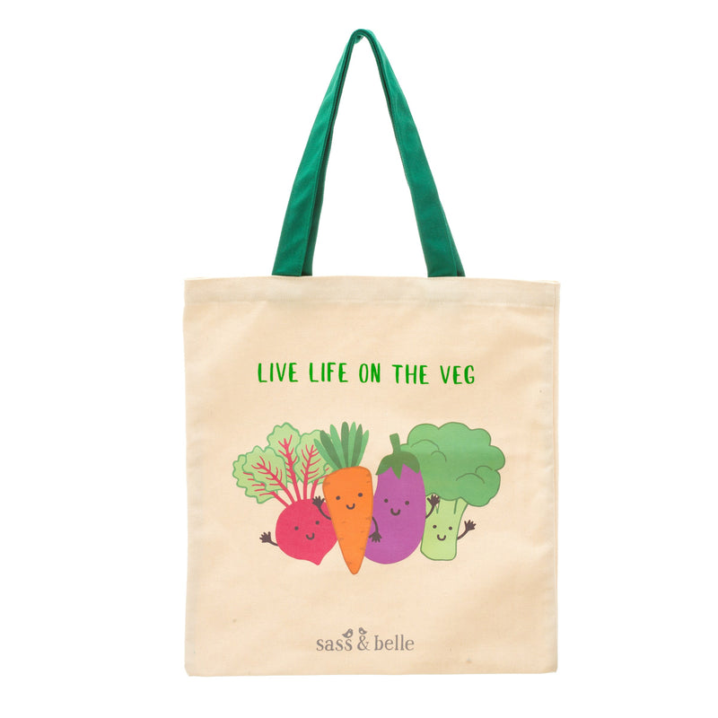 Live Life On The Veg V-Gang Tote Bag