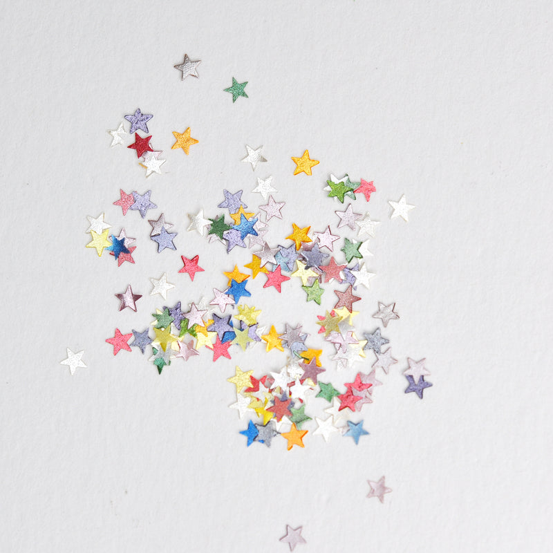 Luxury Rainbow Glitter Stars Sprinkles (Best Before 31 July 2020)