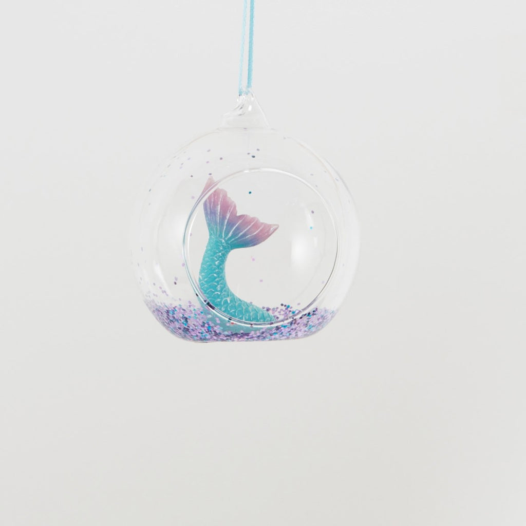 Mermaid's Tail Hanging Decoration Bauble