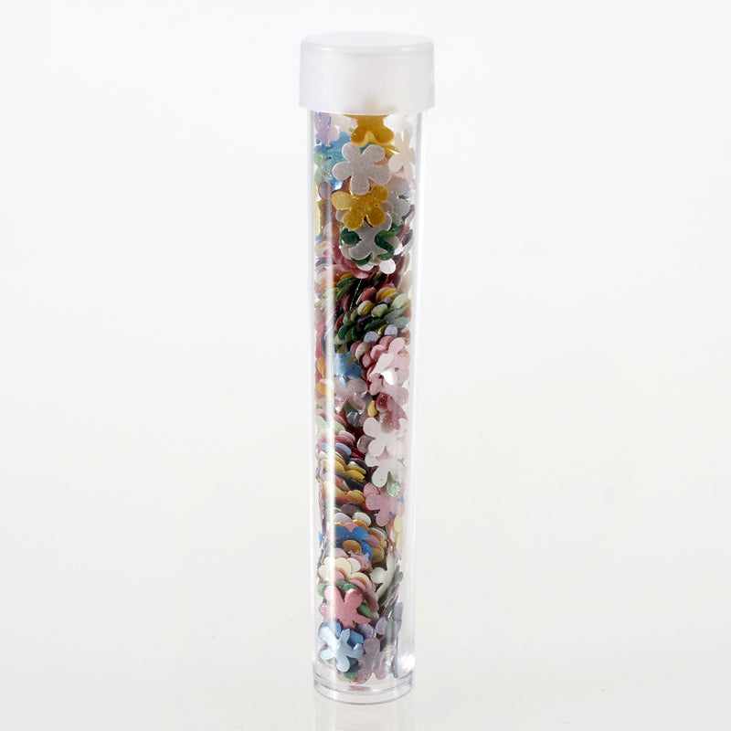Luxury Rainbow Glitter Flower Sprinkles (Best Before 11 Apr 2021)