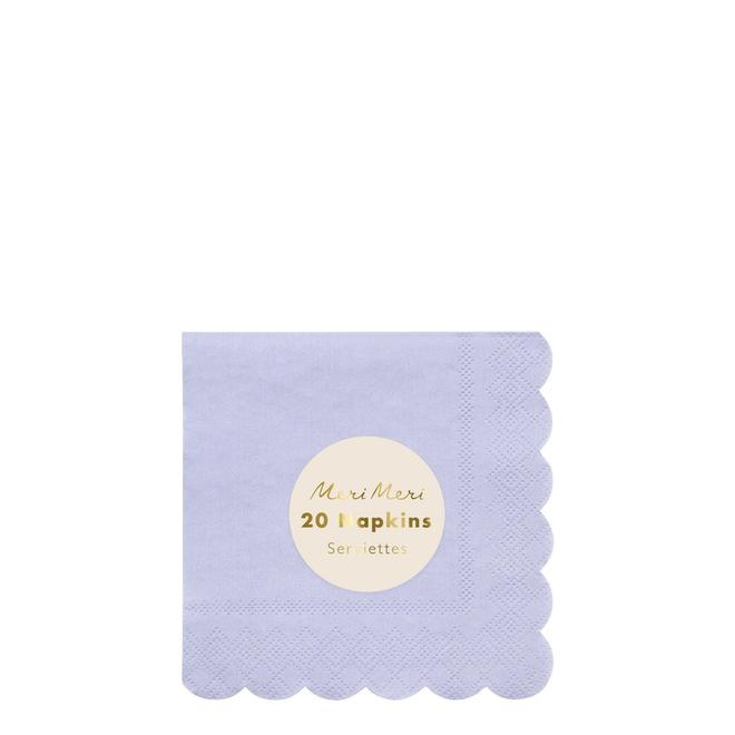 Pale Blue Small Napkins