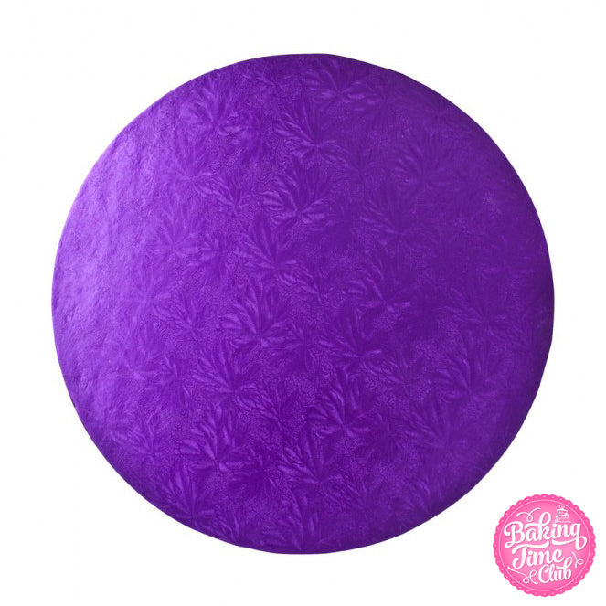 "Purple 10"" Cake Drum - 5 Pack"