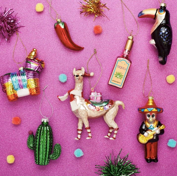 Paco Piñata Hanging Decoration Bauble