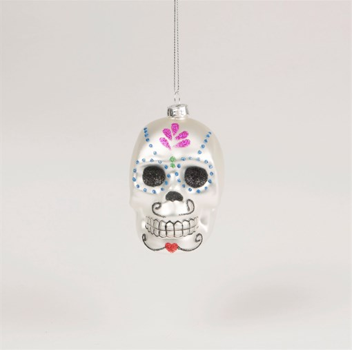 Sass and Belle Day of the Dead Sugar Skull Hanging Decoration Bauble