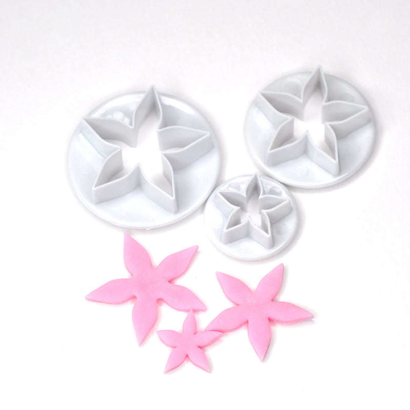 Starfish Flower Fondant Cutter (Set of 3)