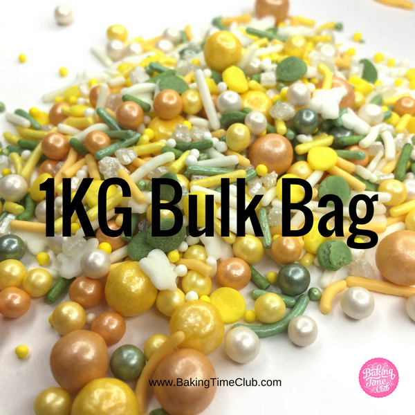 Bulk Bag - Sunshine and Daisies Sprinkles