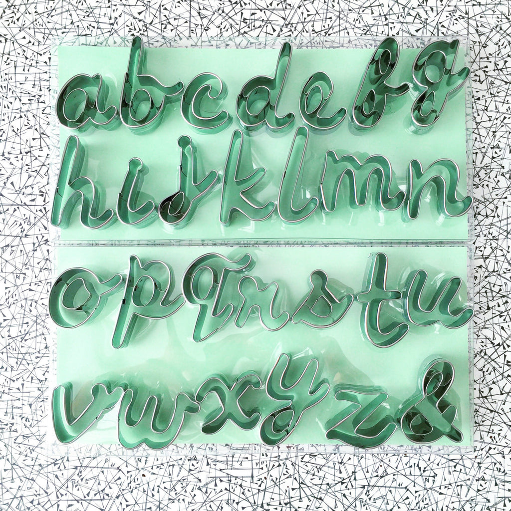 Alphabet Cookie Cutters
