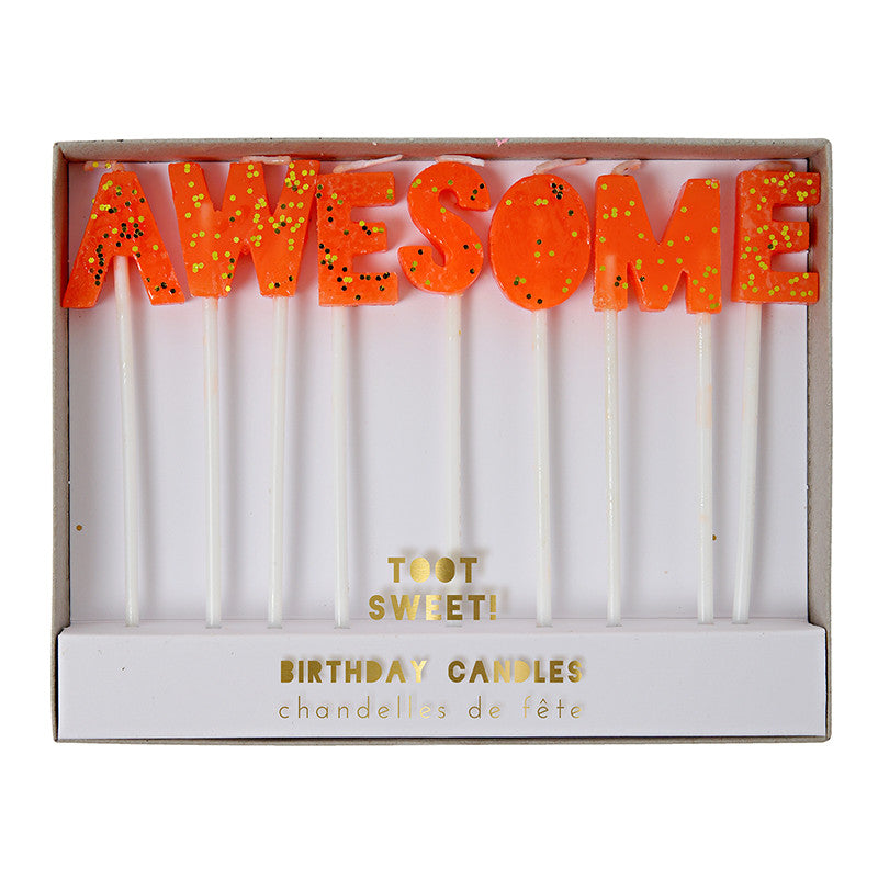AWESOME Cake Candles
